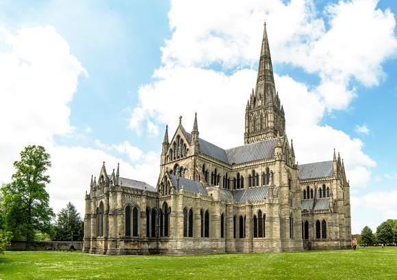 North and East Ends of Salisbury Cathedral